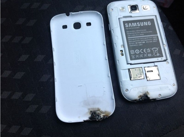 galaxy s3 burnt 1