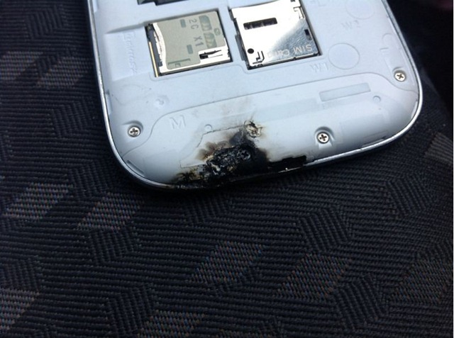 galaxy s3 burnt 3